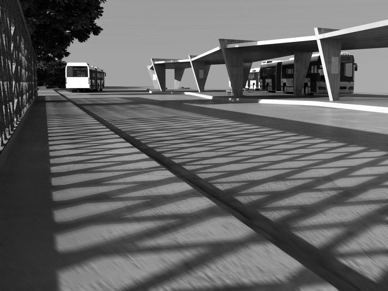 Bushaltestelle Architekt